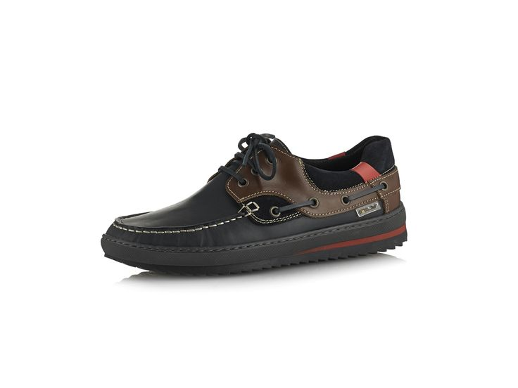 Sapato de vela em nobuck - Colecção Sapatos vela Homem Outono / Inverno 2015-2016 | MLV Shoes