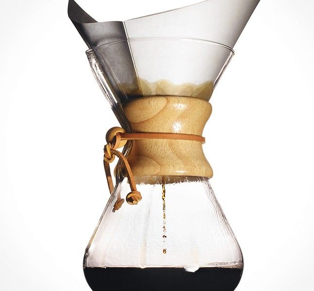 You love your French press—we get it. But when it's time for an upgrade, you should invest in a Chemex.