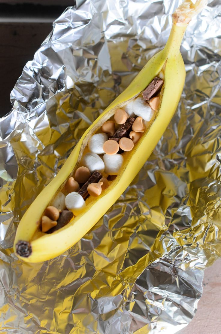 Recipe: Campfire Banana Boat S'mores — Recipes from The Kitchn