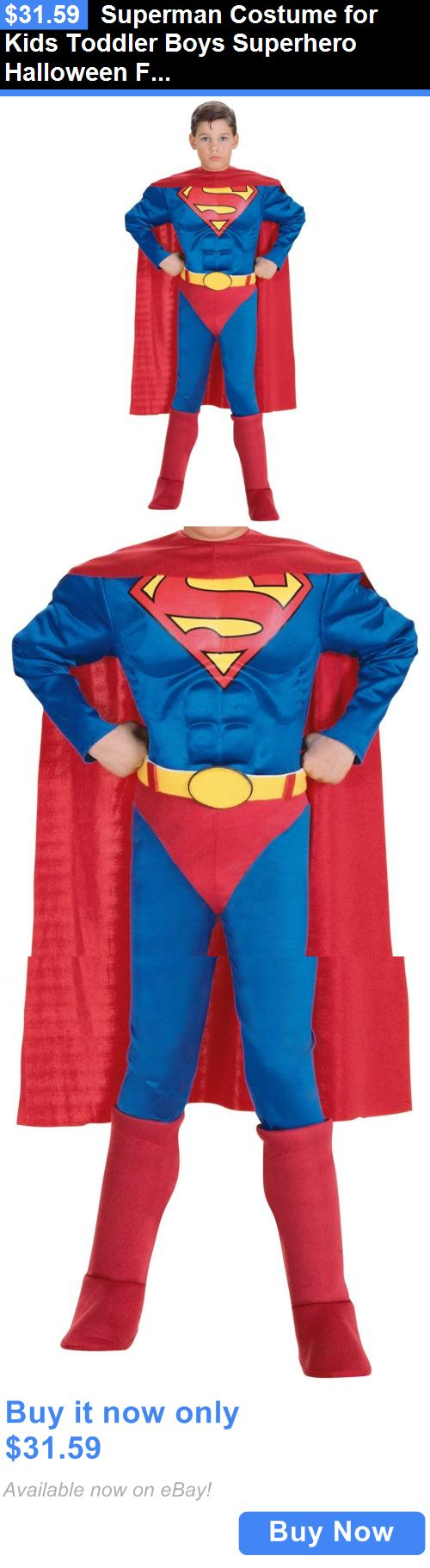 Superman hoodies for couples images amp pictures becuo - Kids Costumes Superman Costume For Kids Toddler Boys Superhero Halloween Fancy Dress Buy It Now