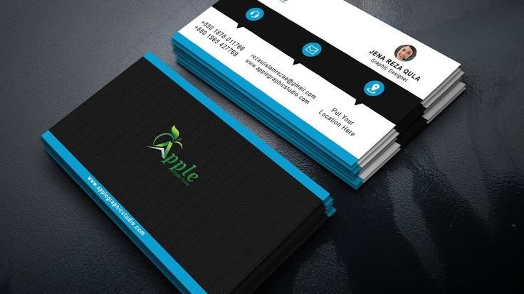 The 84 best business card images on pinterest how to create a corporate business card design in photoshop colourmoves