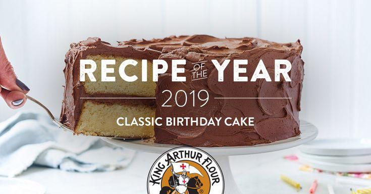 King Arthur Birthday Cake Recipe: Classic Birthday Cake