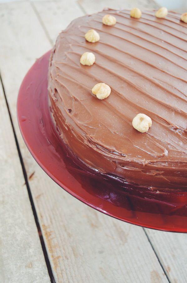Nutella - Mascarpone cake recipe συνταγή τούρτα νουτέλα μασκαρπόνε cool artisan Γαβριήλ Νικολαίδης