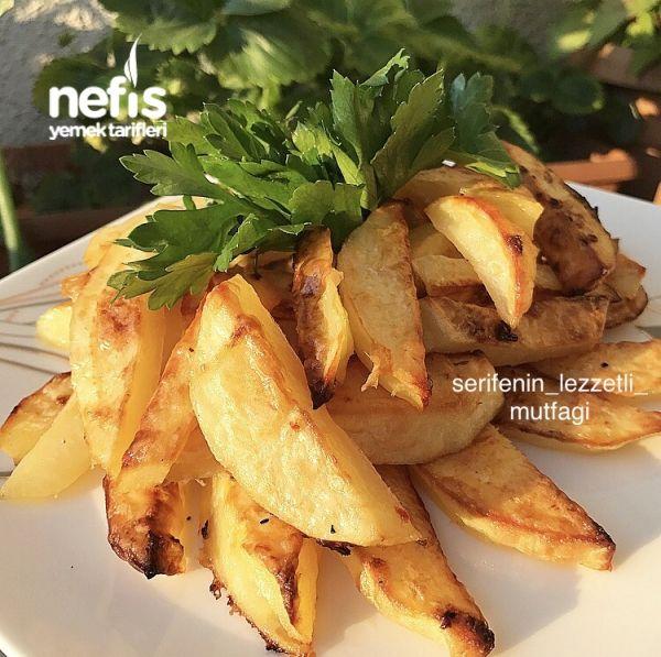 Fırında Sutlu Baharatli Patates