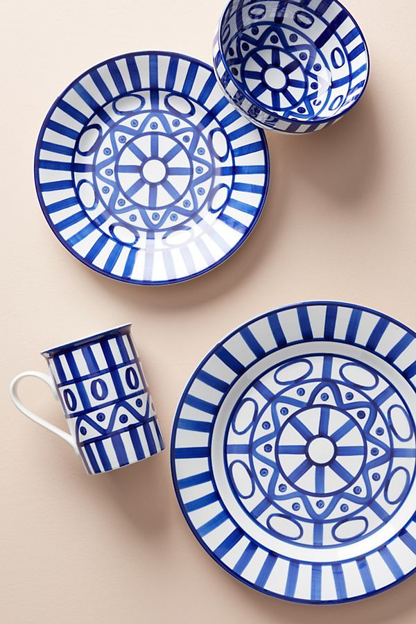 Dansk Arabesque Dinner Plate | anthropologie | Pinterest ...