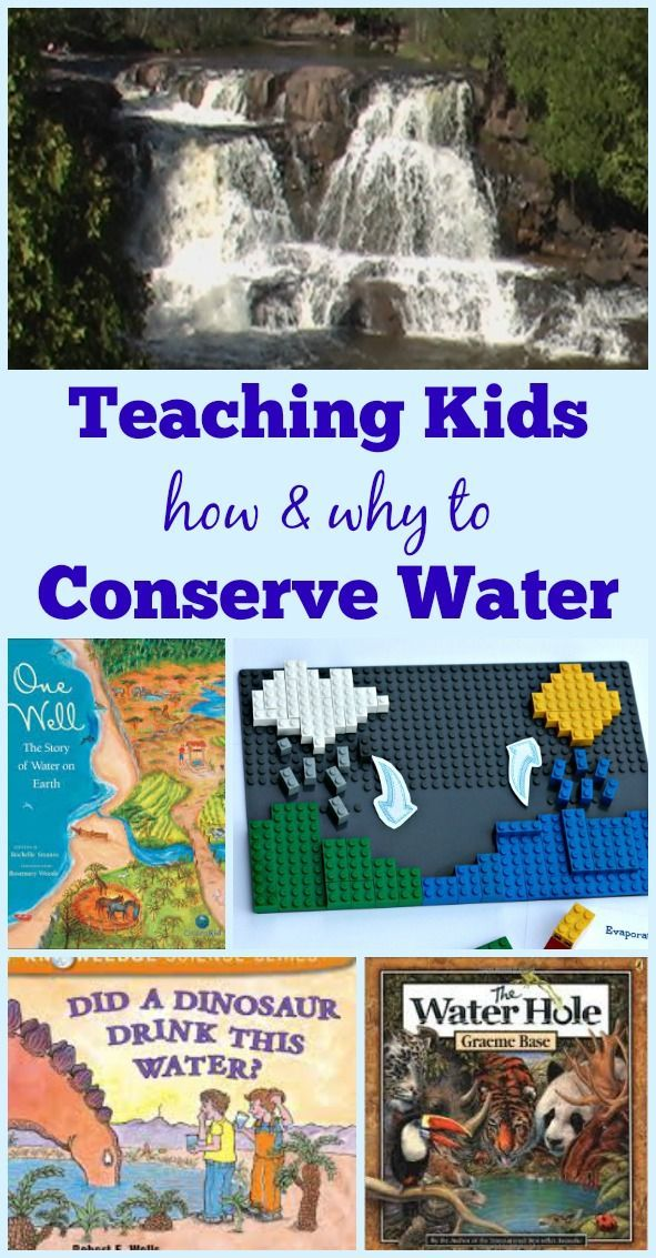 Ways to teach kids about Water Conservation & the Water Cycle - Earth day activities | environmental science elementary & middles school