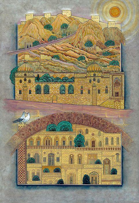 Minyatür; Mardin Zinciriye Medresesi