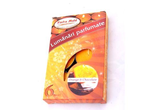 Lumanari parfumate 6/set Orange | Misavan Curatenie