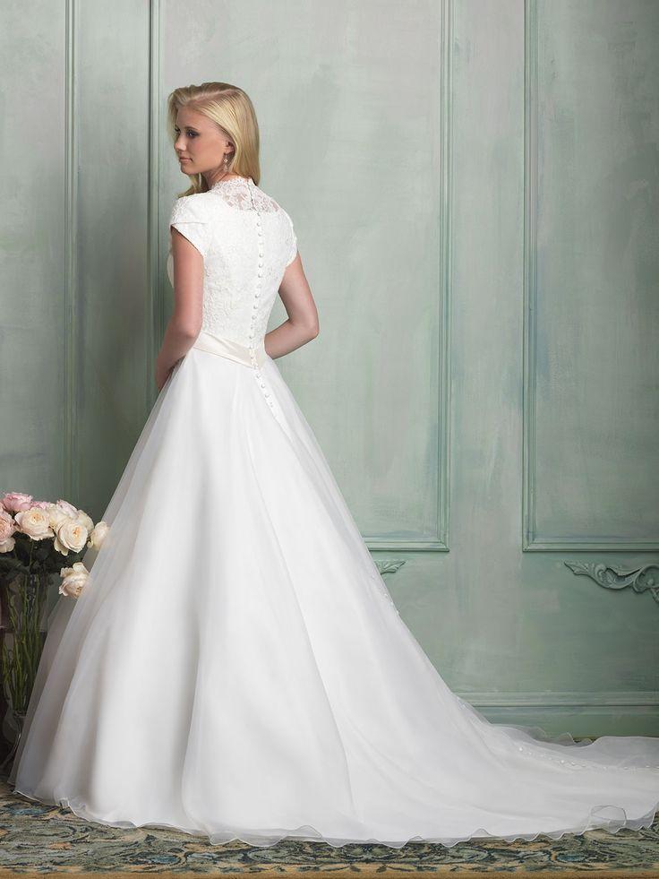 114 best ALLURE M O D E S T images on Pinterest | Wedding frocks ...