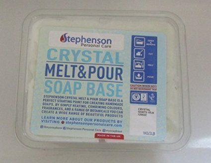 Base per Sapone Melt & Pour con Latte di Capra - 1 Kg