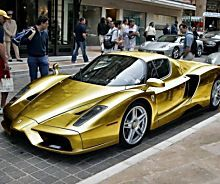 Gold Plated super car spotted in Jakarta belongs to an Indonesian  millionaire. …