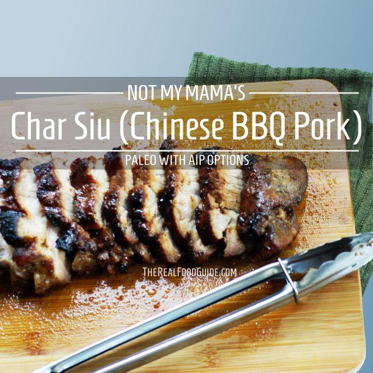Paleo Chinese Pork Buns (Cha Siu Bao)