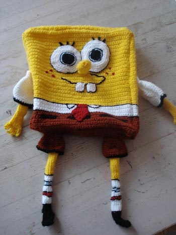 Spongebob Squarepants Knitting Pattern