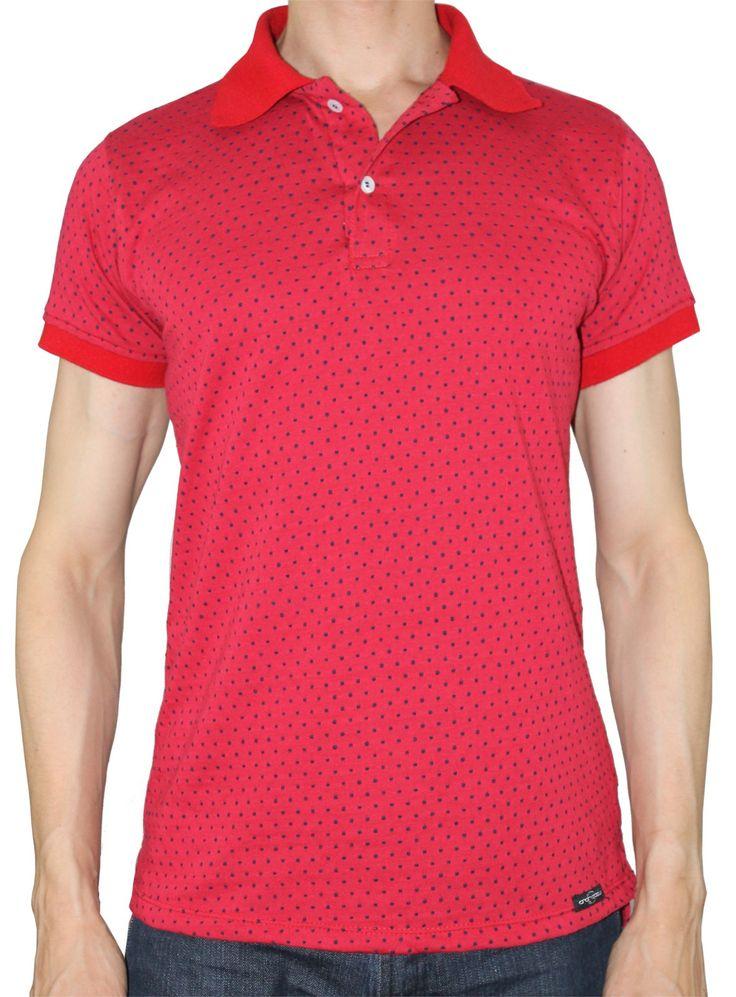 Polo Slim Hampton Rojo - Camisetas - Camisas y Camisetas - Moda Hombre