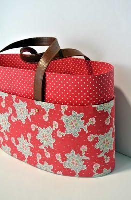 Cartonnage by ADA en Sweet sixteen craft store Cesta de labores