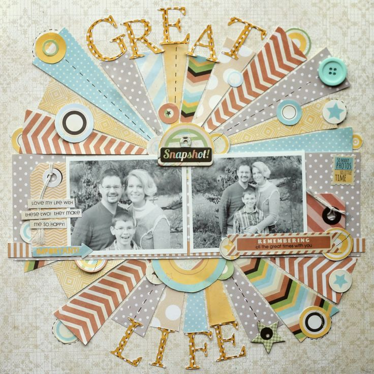 Ideas for Scrapbookers: Inspiration in the Winter and New Cutting Files!