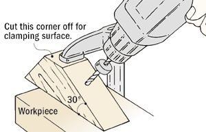 Jig for Angle Drilling