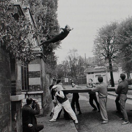 Le saut dans le vide - Yves Klein