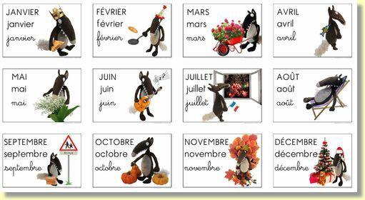 Calendrier des loups ecole divers pinterest moustache - Date des saisons 2016 ...