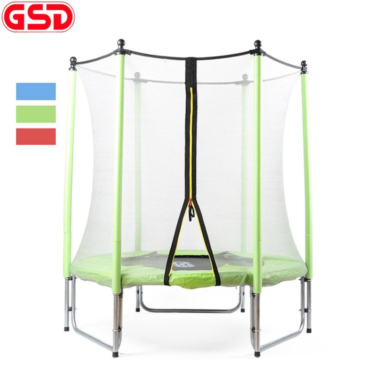 Fancy GSD Inch Kids Spring Trampoline with Safe Net Fits Color For Available