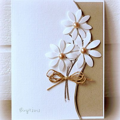 Clean and Simple Card by Birgit Edblom (Biggan at (SCS).