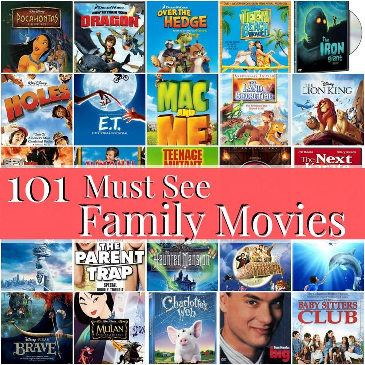 101 Must-See Family Movies - Blissful and Domestic