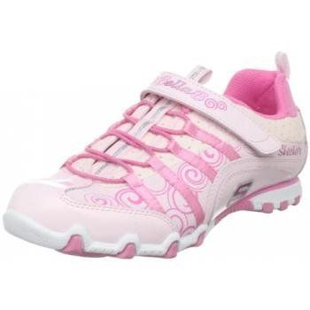 Let your little dancer shine in the Skechers Bella Ballerina Prima Princess. This kid's sneaker is crafted with a supple leather upper featuring graphics, logo, and overlays details for durable style. A soft fabric lining, padded collar and cushioned footbed combine to give her all-day comfort. #girls #skechers #fashion #sneakers #princess #ballerina #footwear #shoes $42.07 http://www.thinkfasttoys.com/Skechers-Ballerina-Princess-Sneaker-Little/dp/B00CYK815A