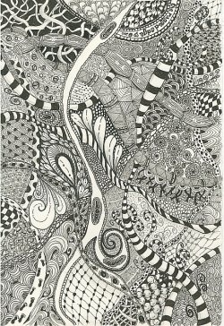 Zentangle .Zen Tangled, Fair Popular, Popular Despite, Pencil Drawing, Occurances, Bit Unwieldi, Zentangle Doodles, Art Projects, Visitor