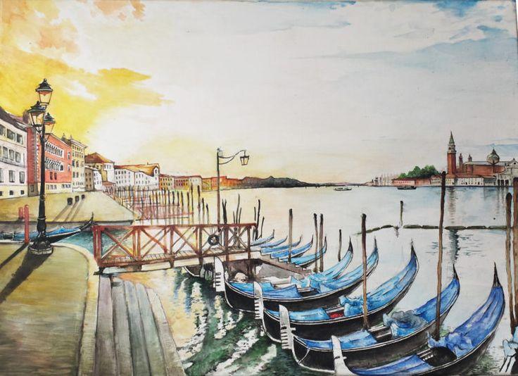 Veneția în amurg…sau la răsărit? – madalina.zmed