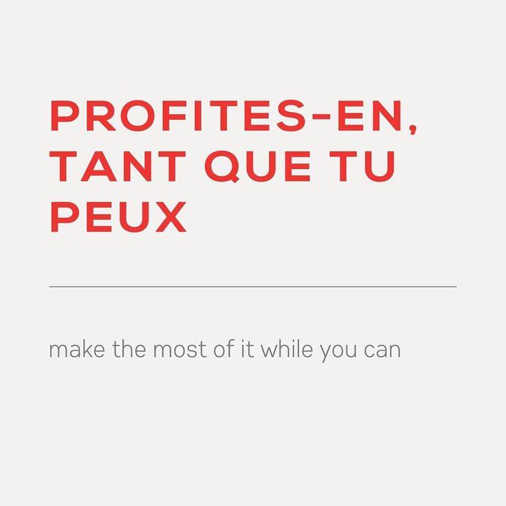 Profites En Ou Profite En
