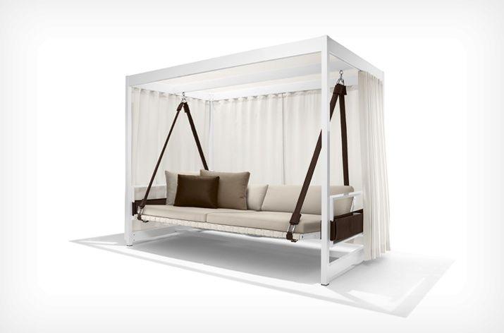 Dedon - City Camp Garden Swing Sofa Chair Outdoor Furniture - designer gartenmobel kenneth cobonpue