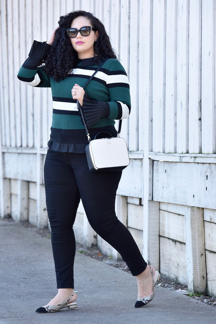 Workwear Inspiration via Girl With Curves