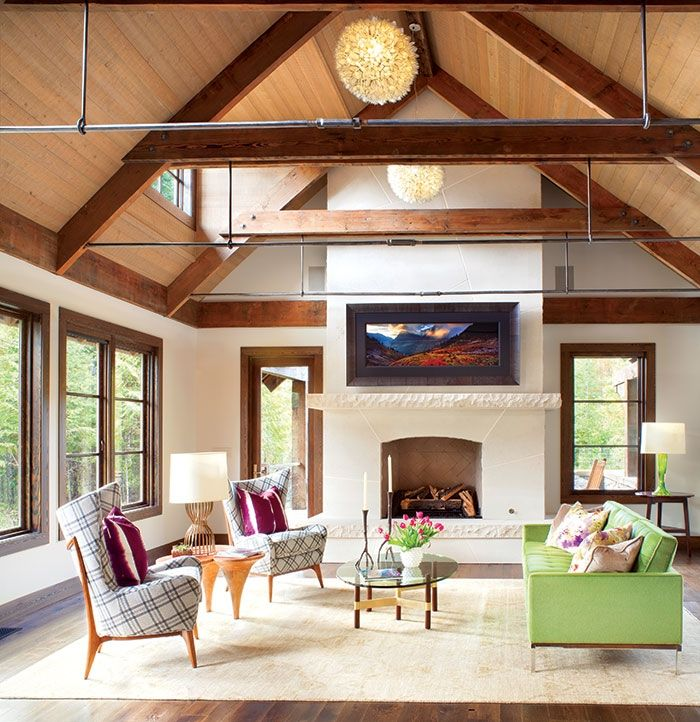 216 Best Living Rooms Images On Pinterest Mountain Homes Mountain Living A