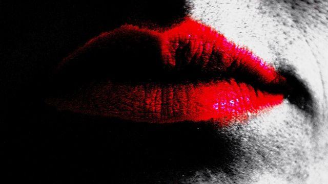 Dudaklar, Öpücük, Aydınlatma, Etkisi, Red, Arka Plan