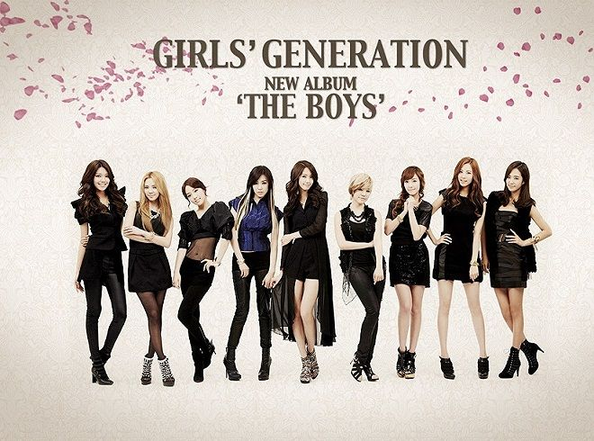 girls generation the boys integrantes - Buscar con Google