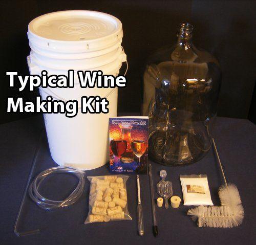 Wine Making Kit & 1 Minute Wine Recipe...I should start making wine....
