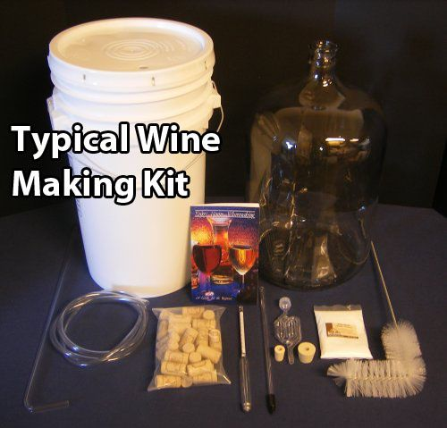 Wine Making Kit & 1 Minute Wine Recipe