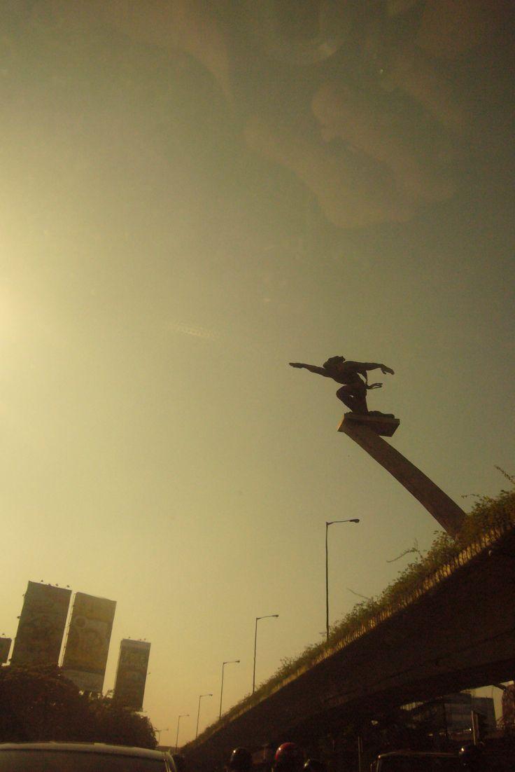 Pancoran Statue, Jakarta, Indonesia