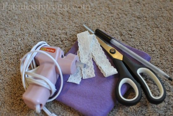 How to Make Baby Headbands {Satin and Felt Flowers} | Fabulessly Frugal: A Coupon Blog sharing Amazon Deals, Printable Coupons, DIY, How to Extreme Coupon, and Make Ahead Meals