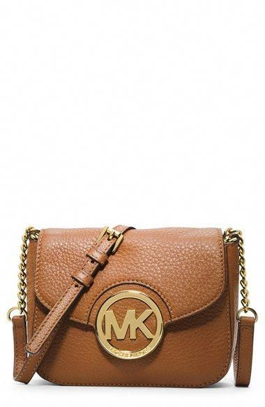 e2618e067d548c MICHAEL Michael Kors 'Small Fulton' Crossbody Bag available at #Nordstrom  #Handbagsmichaelkors