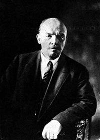 The Russian revolutionary Lenin. (Vladimir Ilyich Ulyanov, 1920)