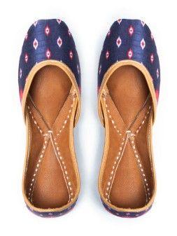 9fd29f55ab Punjabi Jutti : Buy Designer Jutti & Women's Mojari Online At Jivaana
