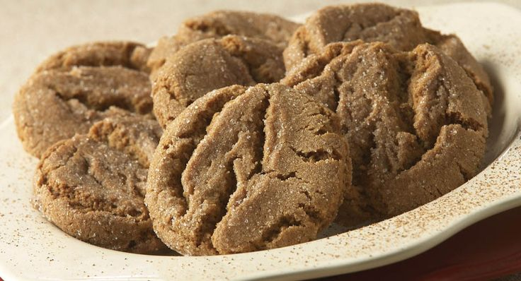 A quick and easy gingersnap cookie!