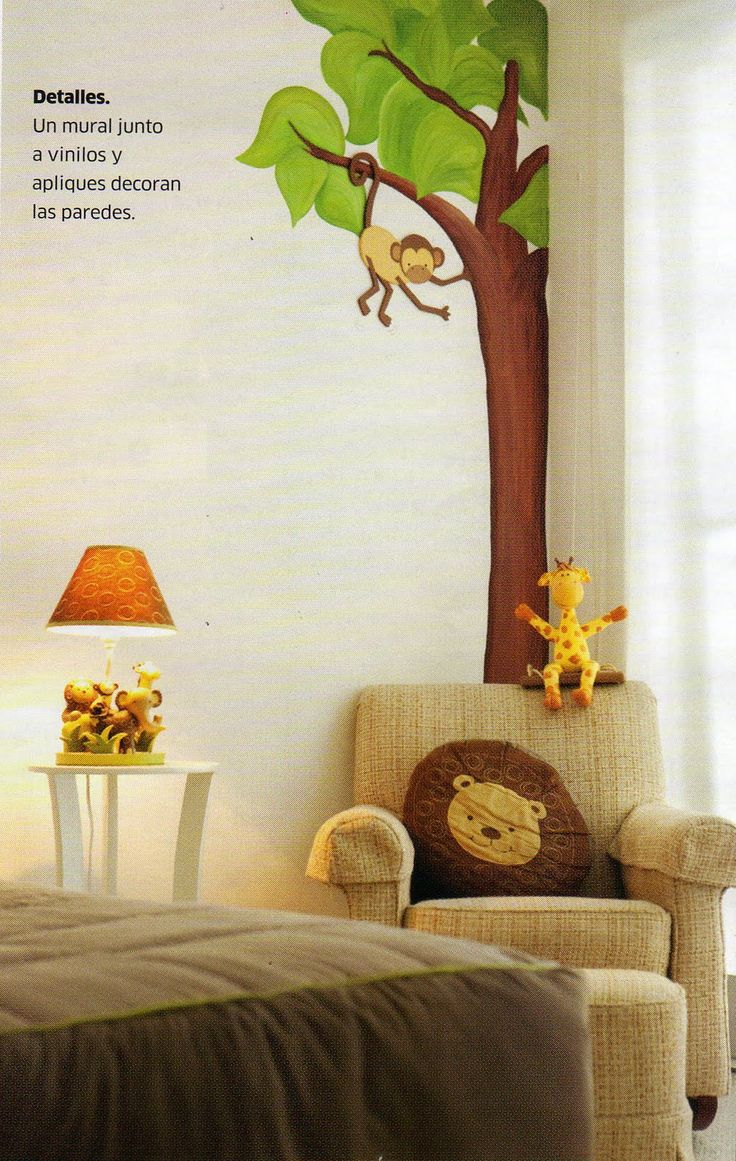 57 best animales de la selva ideas cuarto ji images on - Decoracion habitacion bebe ...