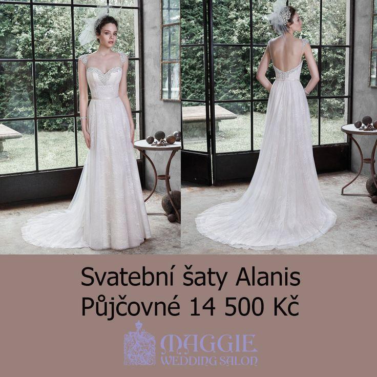 Svatební šaty Alanis, salon Maggie #svatebnisaty #svatba #svatby #svatebnisalon #svatebnistudio #saty #MaggieSottero #nevesta #satypronevestu