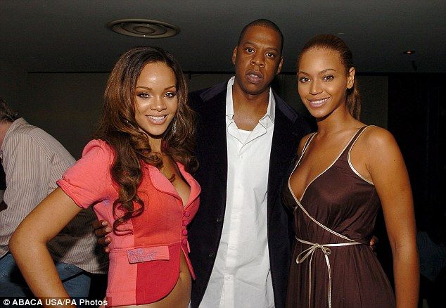 Beyoncé and Jay Z separated for a year amid rumors the rapper was having an affair with Rihanna, an explosive new book claims. According to the theory it was in 2005, around the time this picture was taken and Rihanna, then 17, released her debut single. At the time, Jay Z was 35 years old and Beyoncé was 24