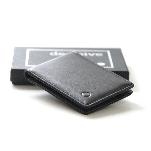 Der dünne, leichte und kompakte Geldbeutel: decisive wallet.  The slim, light and compact wallet: decisive wallet.