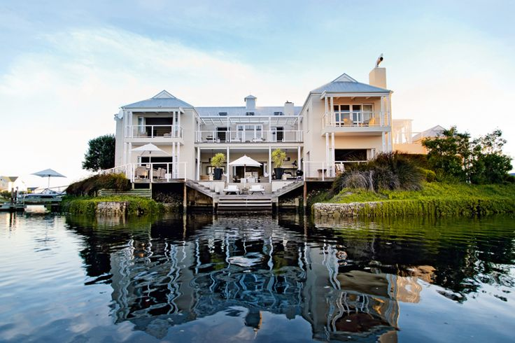 Ever wanted to own a private #island? Live the dream in a #ThesenIsland #home like this one! #luxury #property #SouthAfrica #RealEstateMag