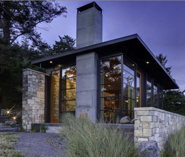cabin + modern = love