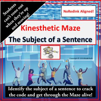 Kinesthetic Without the Krazy Are your students still struggling with run-on sentences and/or comma splice errors? If so, chances are they do not recognize the subject of a sentence (and therefore an independent clause). They will, however, after completing this kinesthetic Maze without the Krazy.